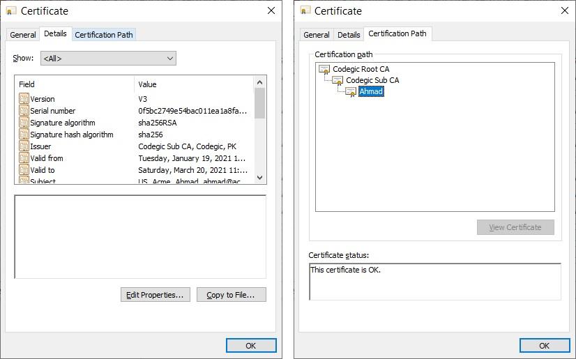 PKI - X509 Digital Certificate
